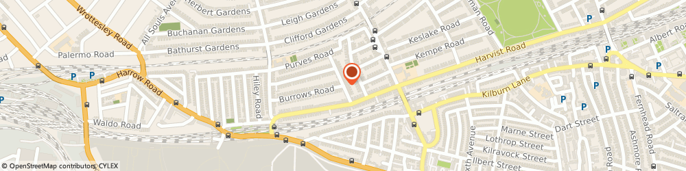 Route/map/directions to Ms Emma Rich, NW10 5TL London, Langler Road , Kensal Rise