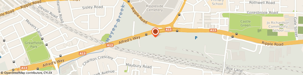 Route/map/directions to Fando Freight Cargo Service, IG11 0AG Barking, 25 Alfreds Way