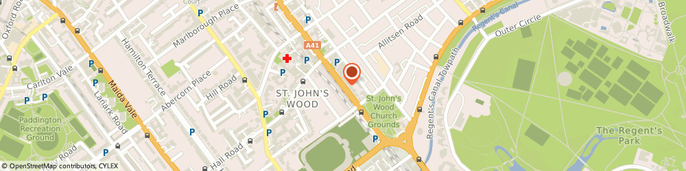 Route/map/directions to Classic Travel, NW8 9SL London, 23 Wellington Road