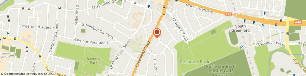 Route/map/directions to Hong Kong Chinese Takeaway, UB6 8QT Greenford, 626 Greenford Road
