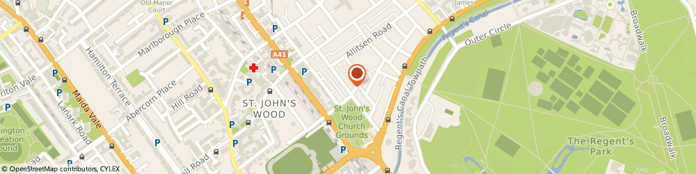 Route/map/directions to Elias St John's Wood, NW8 7SH London, 68 ST. JOHN'S WOOD, HIGH STREET