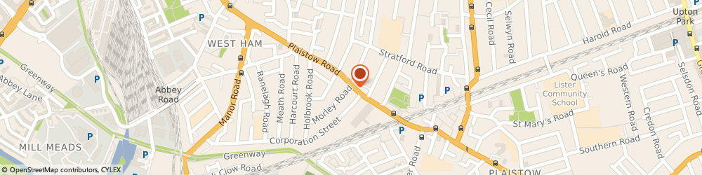 Route/map/directions to Post Office Limited, E15 3EU London, 231 Plaistow Road