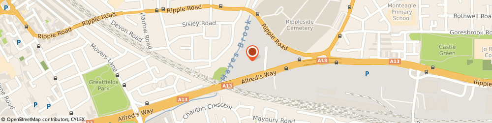 Route/map/directions to Tohani Manufacturers Limited, IG11 0TJ Barking, UNIT 51 BARKING INDUSTRIAL PARK, ALFREDS WAY