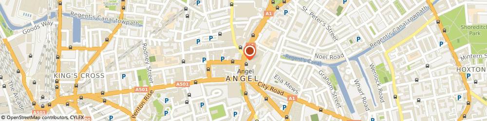 Route/map/directions to American Dry Cleaning Company LONDON, N1 0PB London, 338 Upper Street