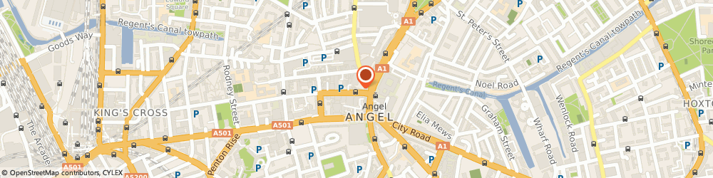 Route/map/directions to Equanimity IFA Limited, N1 9PF London, 99 White Lion St