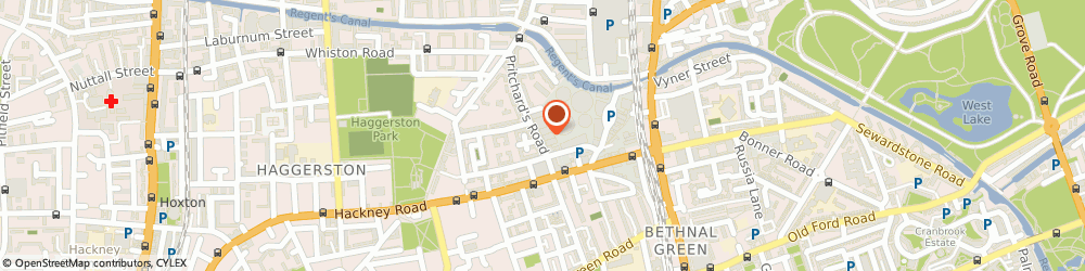 Route/map/directions to J Yearley Ltd, E2 9AP London, 24-28 Pritchards Road