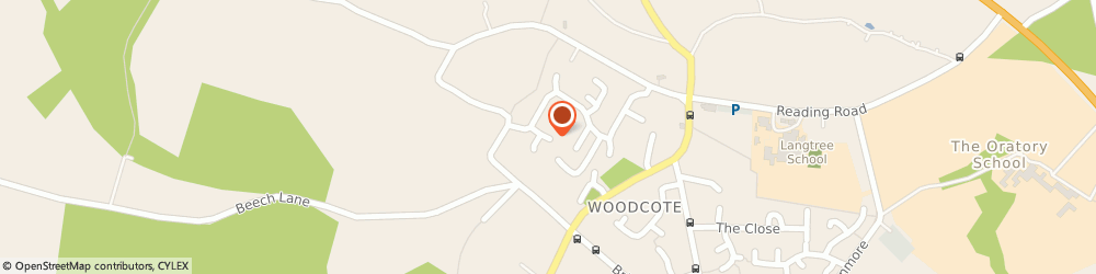 Route/map/directions to Furniture Medic, RG8 0QJ Reading, 28 Wayside Green, Woodcote