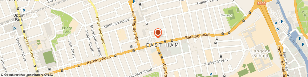 Route/map/directions to Lloyds Bank, E6 2HN East Ham, 14 High Street North