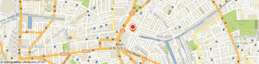 Route/map/directions to Ivona Ivons, N1 8BW London, 20 Duncan St