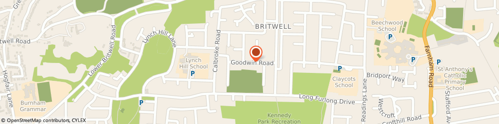 Route/map/directions to Murdochs, SL2 2ER Slough, UNIT B WENTWORTH INDUST CT, GOODWIN RD
