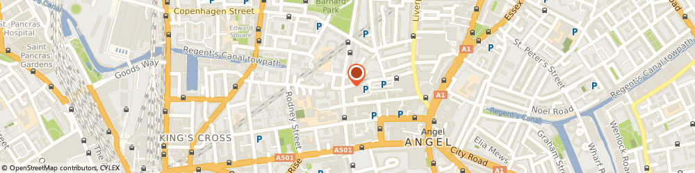 Route/map/directions to Islington Police Station, N1 0YY London, 2 Tolpuddle Street
