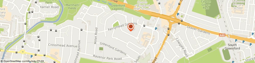 Route/map/directions to n y d Driving School, UB6 9NP Greenford, 38 Goring Way
