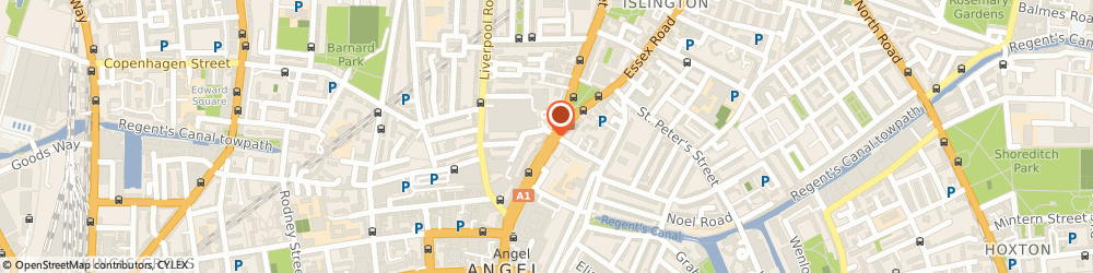 Route/map/directions to Stone, N1 2TX London, 48, UPPER STREET