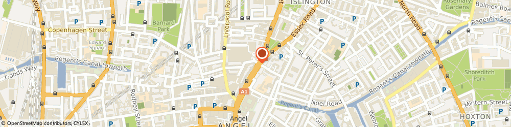 Route/map/directions to Angel City Cars Airport Transfers, N1 0PN London, 49 Upper Street