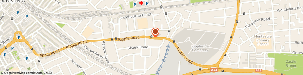 Route/map/directions to Inca Landscapes Ltd, IG11 9QZ Barking, 465 Ripple Rd