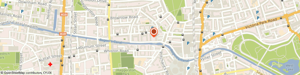 Route/map/directions to The Hackney Pirates Limited, E8 4PS London, 8 ORWELL COURT, POWNALL ROAD