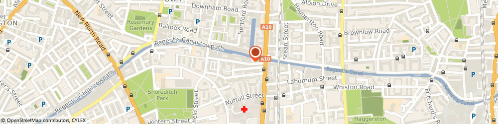 Route/map/directions to Impact, N1 5QJ London, 4B Orsman Road