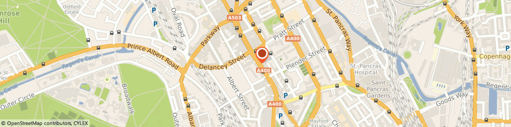 Route/map/directions to Paddy Power, NW1 7JL London, 83-85 Camden High Street