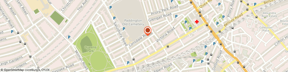 Route/map/directions to London Music Academy, NW6 6RA London, 21 Lonsdale Road