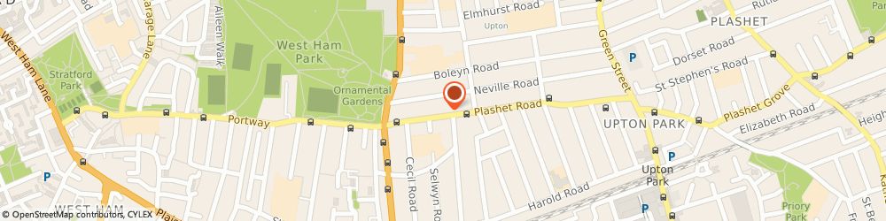 Route/map/directions to East London Limos, E13 0QA London, 43 Plashet Rd