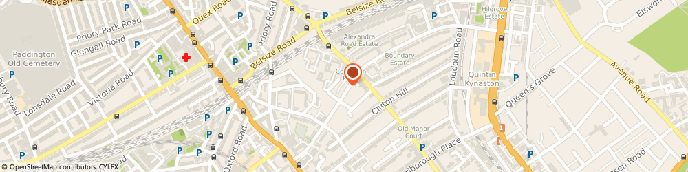Route/map/directions to Dave Wax Tailors London, NW8 0RH London, 132A BOUNDARY ROAD