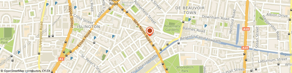 Route/map/directions to UPS Solutions Logistics, N1 7AA London, 275 New North Road