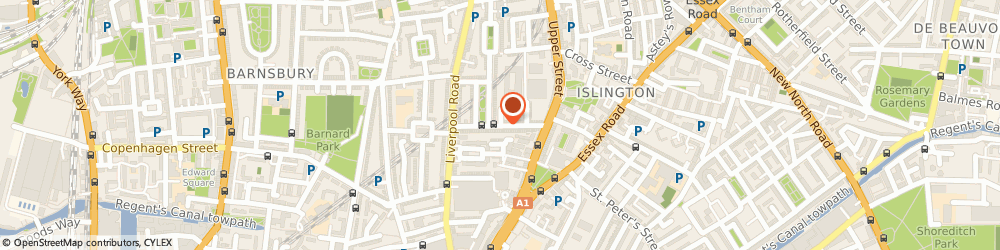 Route/map/directions to Islington Locksmiths 020 7060 6109, N1 0QX London, THEBERTON STREET