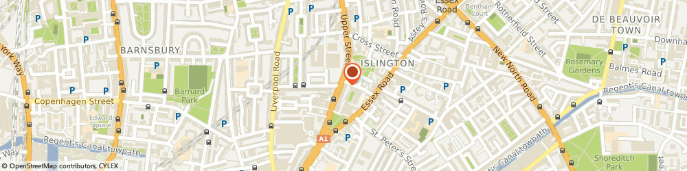 Route/map/directions to Anthony Garfield & Co Finsbury Park, N1 2XQ London, Ground Floor Office, 315 Upper Street