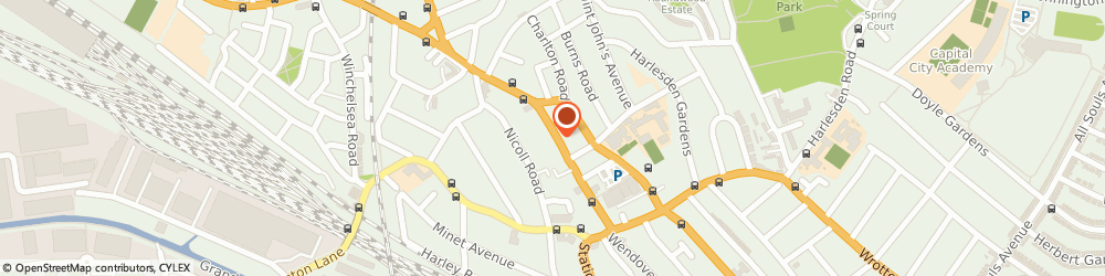 Route/map/directions to Avantgarde Menswear, NW10 8SE London, 29 Craven Park Road