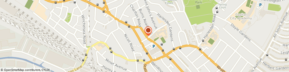 Route/map/directions to Ariane International, NW10 4JX London, 69, MANOR PARK ROAD