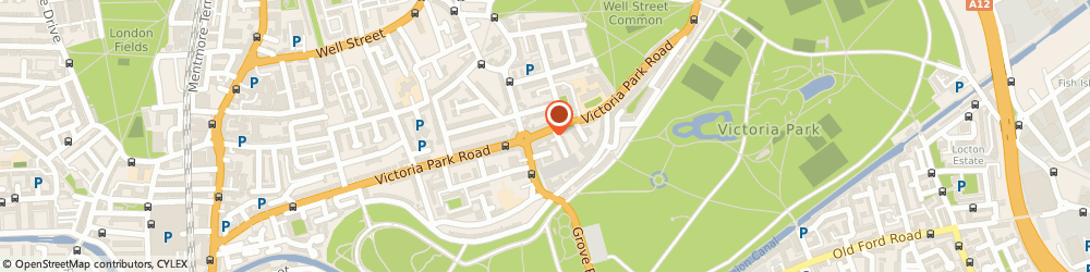 Route/map/directions to UPS Solutions Logistics, E9 7HD London, 172 Victoria Park Road