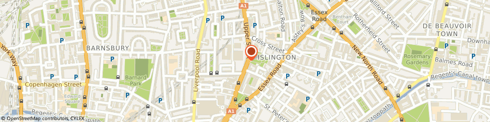 Route/map/directions to Seconda Mano, N1 1QN London, 114 Upper St