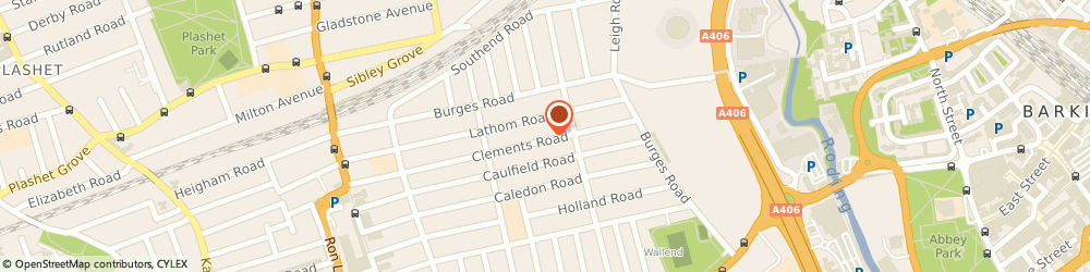 Route/map/directions to Backyard Gardeners, E6 2DP London, 137 Clements Road