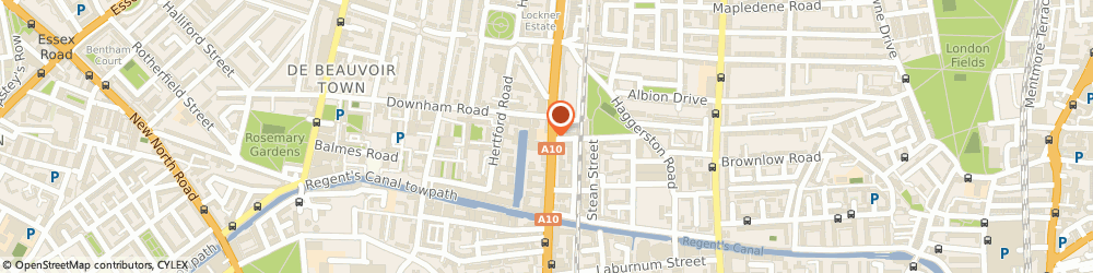 Route/map/directions to Keyline Ltd, E8 4DL London, 317-319 Kingsland Road