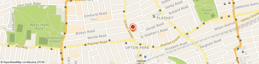 Route/map/directions to Uzay Collection, E7 8LH London, 15 Carlton Terrace