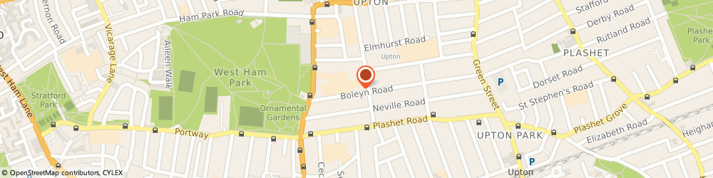 Route/map/directions to St. Bonaventures School, E7 9QD London, Boleyn Rd