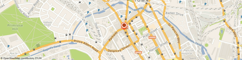 Route/map/directions to Locksmith Camden, NW1 7PG London, 3-7, Parkway