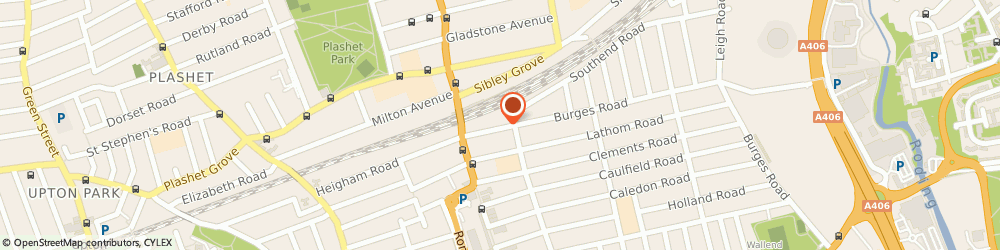 Route/map/directions to East Ham Podiatry, E6 2BJ London, 15 Burges Rd
