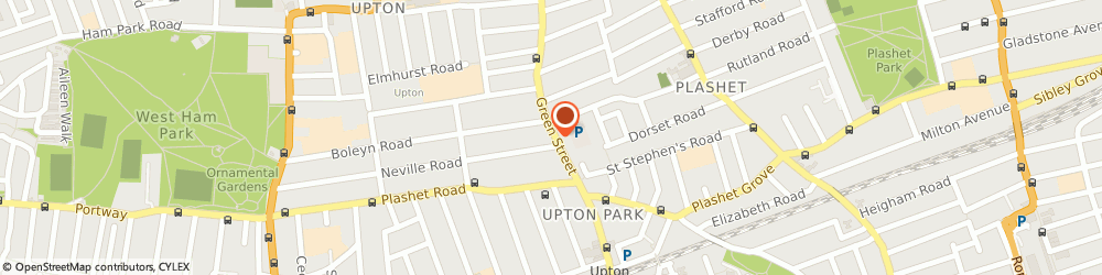 Route/map/directions to Fashion Zone, E7 8LF London, 266 Green Street, Forest Gate