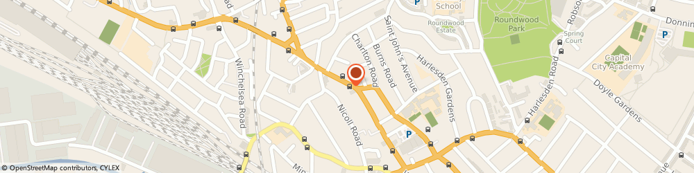 Route/map/directions to Hamdi Centre, NW10 8SG London, 3 Library Parade Craven Park Road