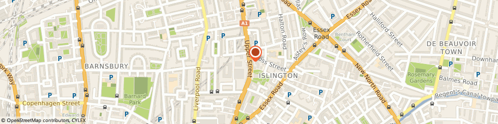 Route/map/directions to John Salt, N1 1QP London, 131 Upper Street