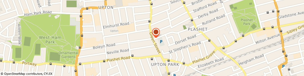Route/map/directions to Doli, E7 8LF London, 248 GREEN STREET