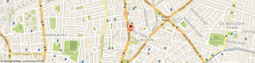 Route/map/directions to Whistles, N1 1QP London, 136 Upper Street