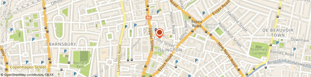 Route/map/directions to Emmy Ltd, N1 2BB London, 65 Cross Street