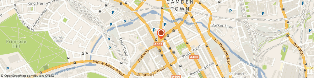 Route/map/directions to HSBC Bank, NW1 8QL London, 176 Camden High Street