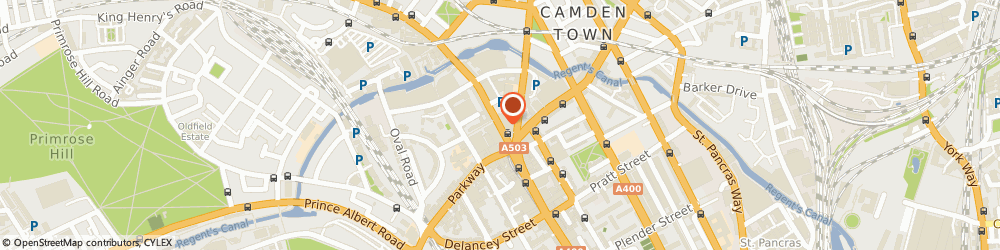 Route/map/directions to Tights4u, NW1 8QP London, 186 Camden High Street