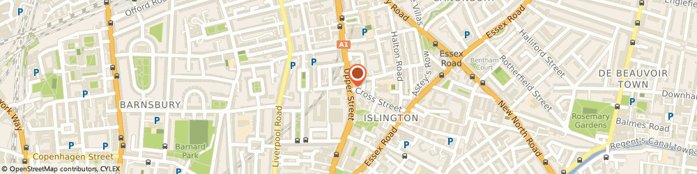Route/map/directions to London Locksmith 020 3514 8220, N1 2TZ London, Upper Street