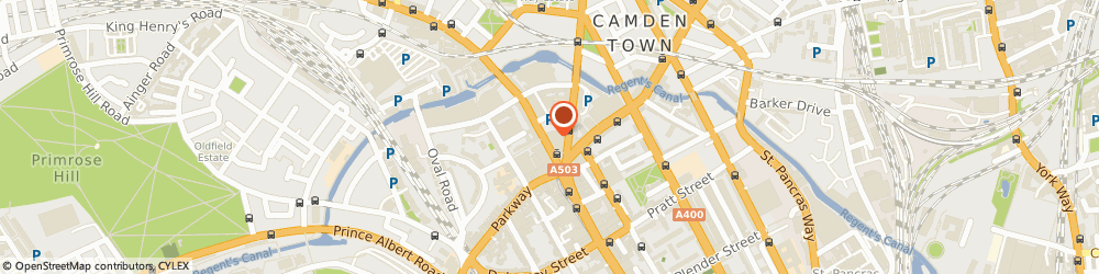 Route/map/directions to Red Sun Uk Ltd, NW1 8QP London, 186 Camden High Street
