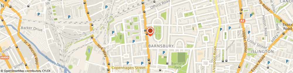 Route/map/directions to Barnsbury Locksmith, N1 1EE London, 304-306 Caledonian Rd;Islington