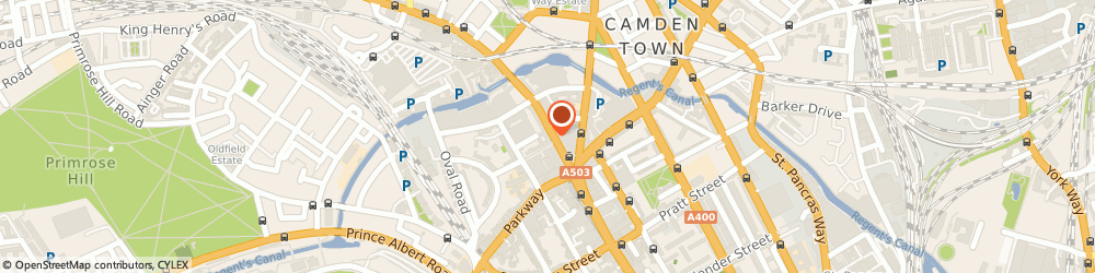Route/map/directions to Rokit Ltd London, NW1 7BU London, 225 High St